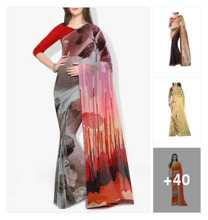 Sarees. Online shopping look by kiru