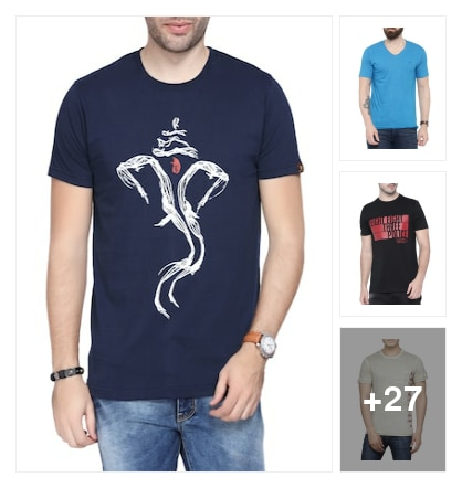 Summer Casual T-shirt . Online shopping look by Royal
