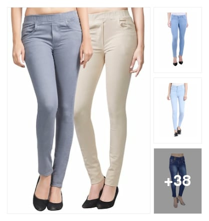 Jeans. Online shopping look by Aadya panth