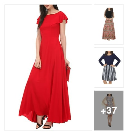 Dresses. Online shopping look by Ayushi
