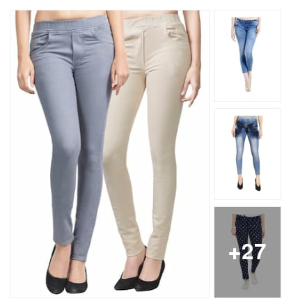 Jeggings. Online shopping look by prasad