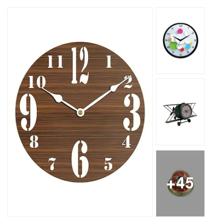 Clocks. Online shopping look by Hitler
