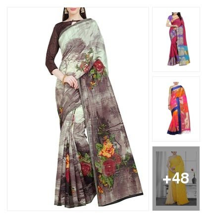 COLORFUL SAREES . Online shopping look by avanthaka