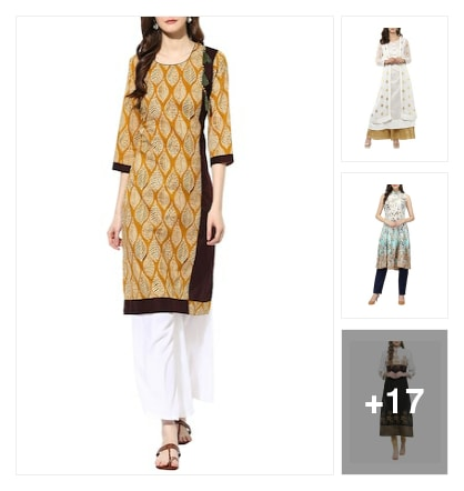 Kurtas. Online shopping look by Ruchika