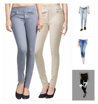 Jeans for girls. Online shopping look by NARAYANA REDDY