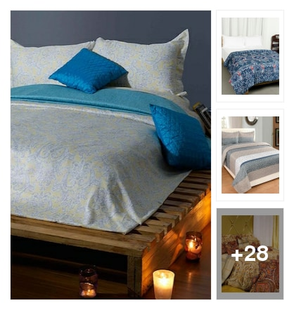 Bedsheets to ur bed to feel relax. Online shopping look by vikram