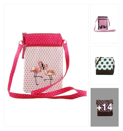 Favourite pick :- polka dots sling bag. Online shopping look by Kinki