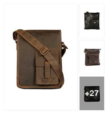 Favourite pick :- messenger bag. Online shopping look by Kinki