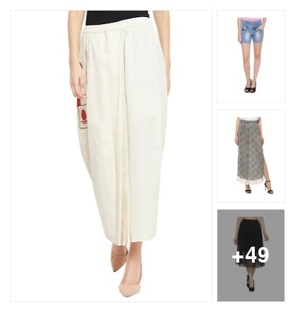SKIRTS & SHORTS. Online shopping look by vihaan