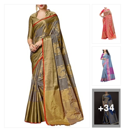 woven sarees. Online shopping look by Neelam