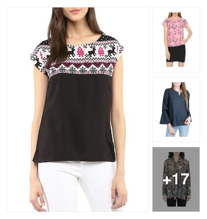 Amazing tops. Online shopping look by Kriti