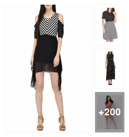 Stylish dresses up to look for her to the forum . Online shopping look by konda
