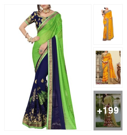 All prices sarees all verities of different looks sarees . Online shopping look by vinod