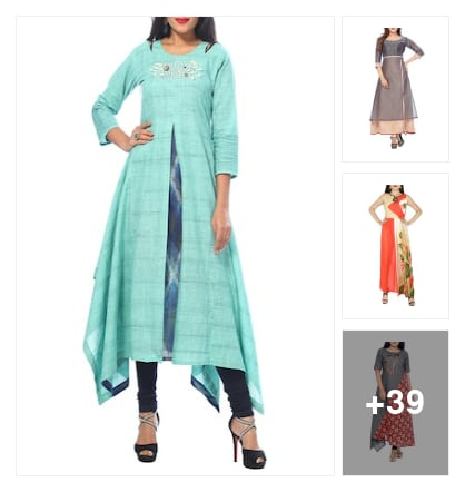 Beautiful Kurtas collection. Online shopping look by Priya Choudhary