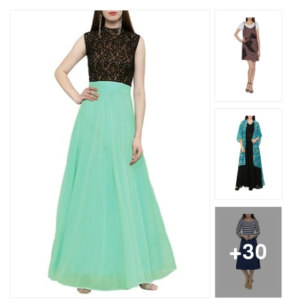 Beautiful Dresses . Online shopping look by BinduGupta