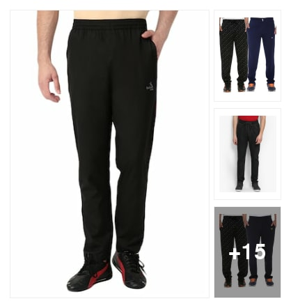 b653861629 Good luck u.s.a Track pants - Buy Track pants for Men Online in India |  Limeroad.com