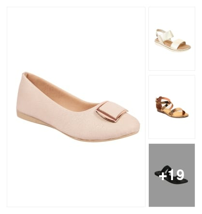 Flats. Online shopping look by Satish Kumar