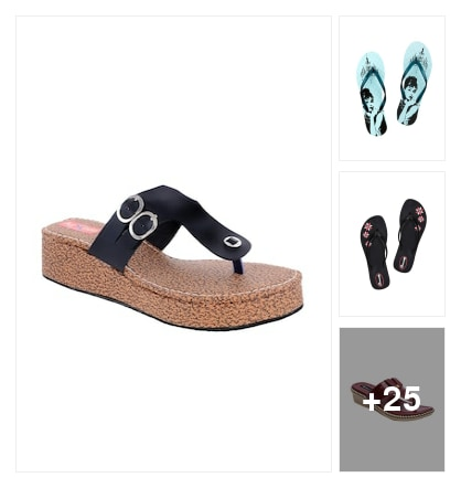 Slippers and flipflops. Online shopping look by Satish Kumar