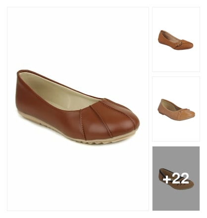The Daily Wear Brown Footwears. Online shopping look by Sunehri