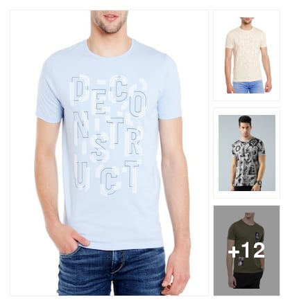 T-shirt. Online shopping look by Shona