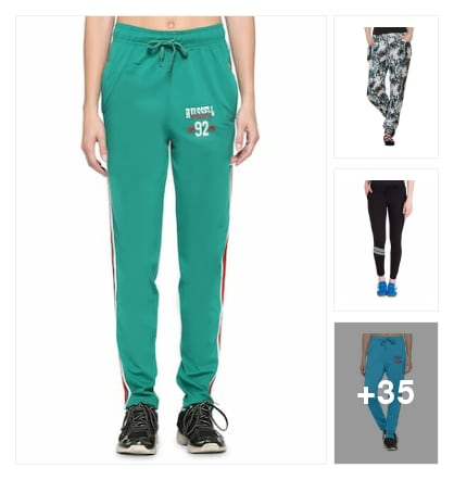 Track pants. Online shopping look by Sree reddy