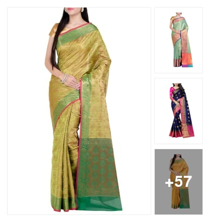 Cotton silk sarees. Online shopping look by chebolu