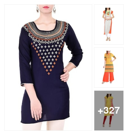 Special looking for kurtas. Online shopping look by sravani