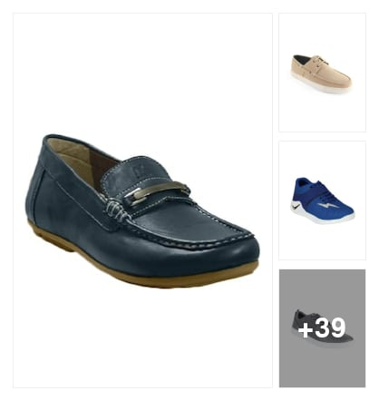 Casual shoes for men. Online shopping look by vikram