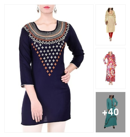 Kurtas. Online shopping look by Ansu