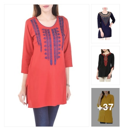 Forever Style In Kurtis. Online shopping look by Devi
