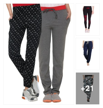 Track pants . Online shopping look by keerthi