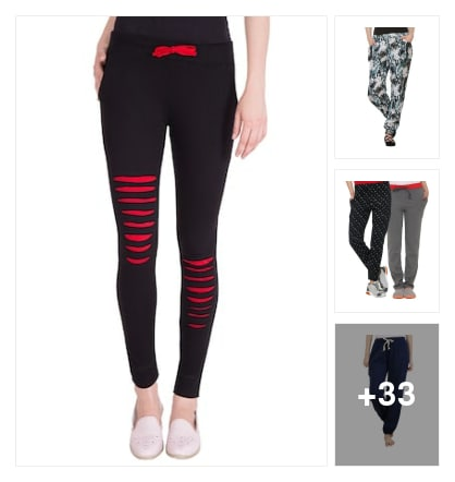 Track Pants for ladies. Online shopping look by lakshmi