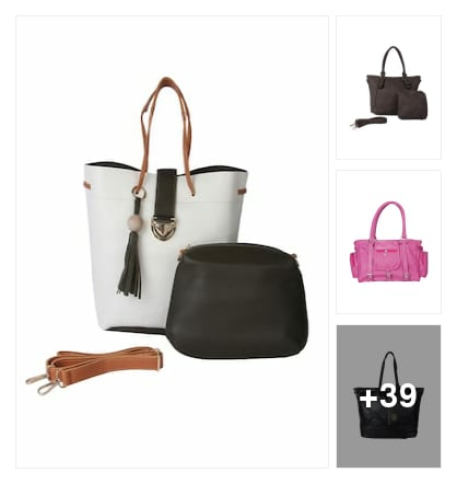 working womens handbags. Online shopping look by sujatha