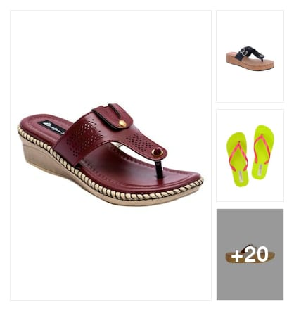 Slippers. Online shopping look by lahari