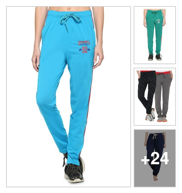 Track pants for women. Online shopping look by lahari