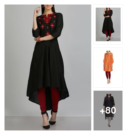 Silk blend kurtas for parties. Online shopping look by Arshith