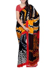 Printed Georgette Saree - Ambaji