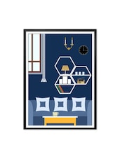 Home Art Decor Gift For Mom New Home Framed Poster - Lab No. 4 - The Quotography Department