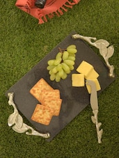 Branch Inspired Cheese Platter & Knife - Sage Koncpt