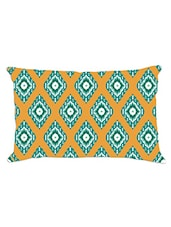 Ikat Printed Accent Cushion Cover (50 Cm X 30 Cm) - By