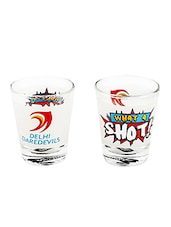 Delhi Daredevil Shot Glass - Delhi Daredevils By Happily Unmarried