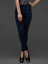 Blue Denim Stretch  Denim - Rider Republic