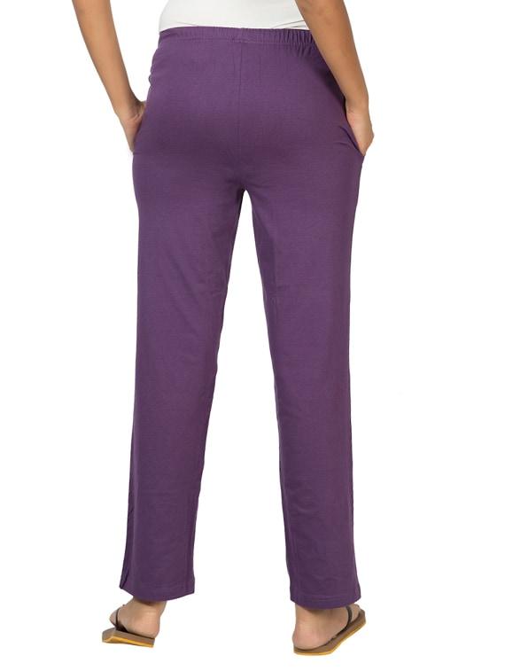 1ebbeee194 Clifton Women's Solid Pajamas Deep Purple