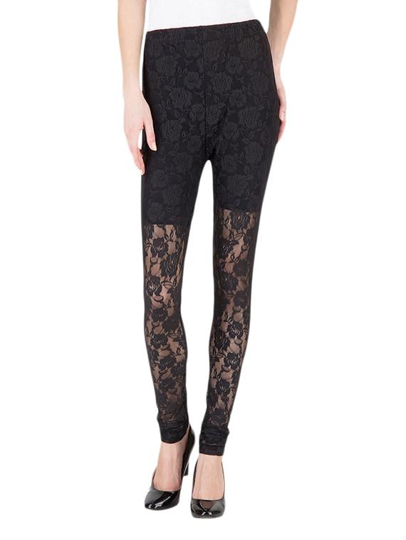 24e00ded376dc Buy Black Net Leggings for Women from Castle Lifestyle for ₹947 at 7% off |  2019 Limeroad.com