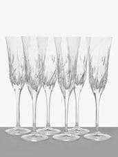Embossed Lines Champagne Flute - RCR - Da Vinci - 1015948