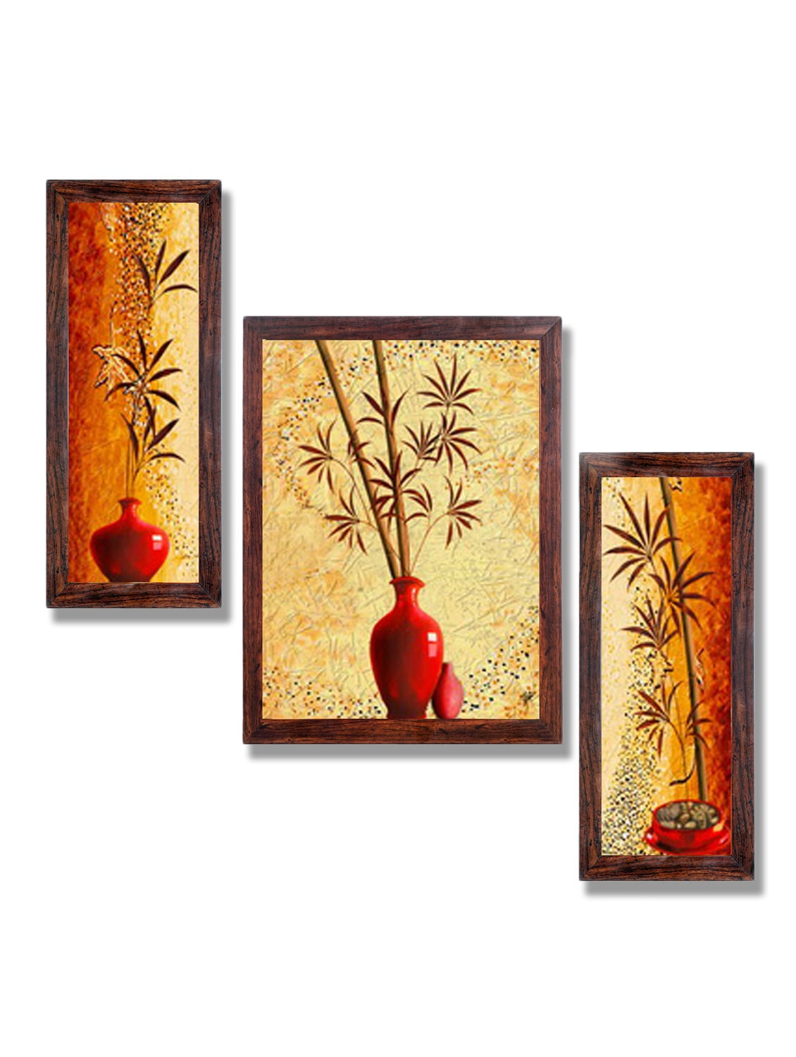 Buy Ray Decor Wall Painting Set Of 3 by Ray Decor - Online shopping ...