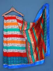 Tribal Print Bhagalpuri Silk Saree - Varanga