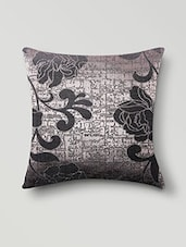 Grey Poly Cotton Set Of 5 Cushion Covers - By