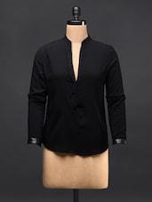 Black Cotton Shirt - TREND SHOP