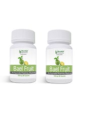 Bael Fruit Capsules 60's - Dysentery & Diarrhea, Colitis, Irritable Bowel Syndrome (Pack Of Two) - By